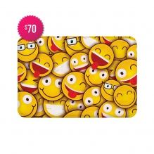 Free Happy Faces Indoor Floor Mats (3' x 2')