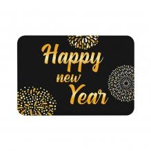 Happy New Year Floor Mats