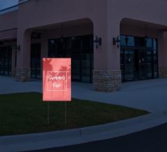 HIP Reflective Advertising Yard Signs