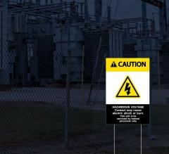 HIP Reflective Danger Yard Signs