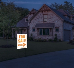 HIP Reflective For Sale Yard Signs