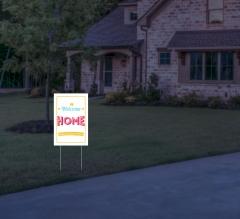 HIP Reflective Home Yard Signs