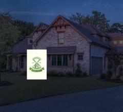 HIP Reflective Logo Yard Signs