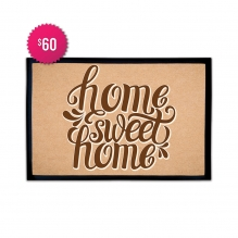 Free Home Sweet Home Outdoor Floor Mats (2.25' x 1.5')