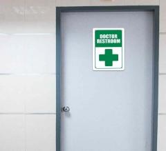 Hospital Restroom Signs