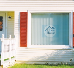 House Clear Window Decals