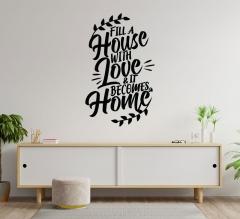 House Vinyl Letters