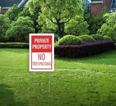 Lawn Yard Signs