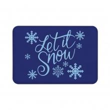 Let It Snow Floor Mats