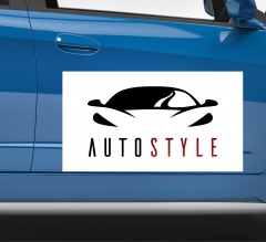 Logo Car Signs