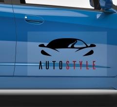 Logo Car Signs Clear