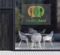 Logo Clear Window Decals
