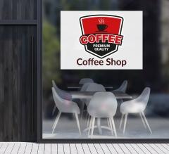 Logo Window Decals Opaque