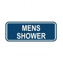 Mens Shower Sign