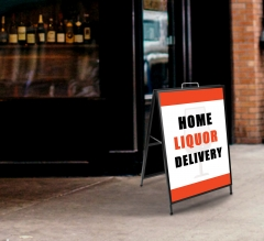 Home Liquor Delivery Available Metal Frames