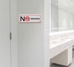 No Smoking Compliance Sign