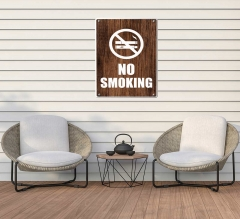No Smoking Patio Signs