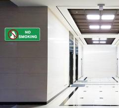 No Smoking Restroom Signs