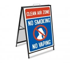 No Smoking Metal A Frames