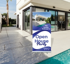 Open House Roll Up Banner Stands
