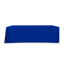8' Pleated Table Covers - Blue