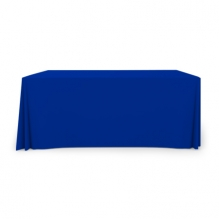 6' Pleated Table Covers - Blue