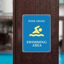 Pool Signs