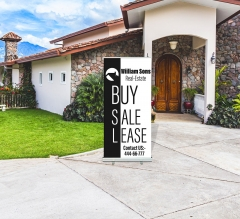 Realtor Roll Up Banner Stands