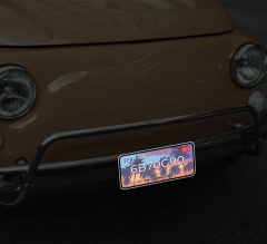 Reflective California License Plates