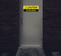 Reflective Caution Compliance Signs