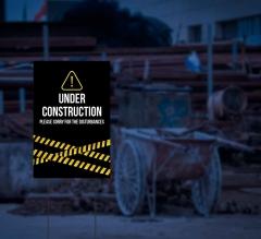 Reflective Construction Yard Signs