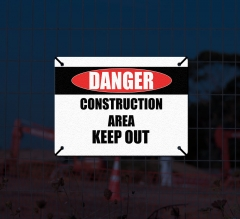 Reflective Danger Compliance Signs