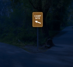 Reflective Directional Street Signs