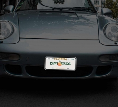 Reflective Florida License Plates