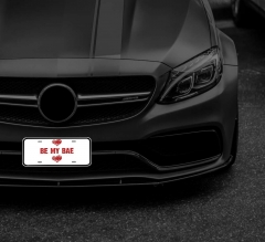 Reflective Funny License Plates