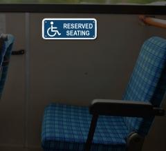 Reflective Handicap Compliance Signs