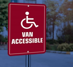 Reflective Handicap Street Signs
