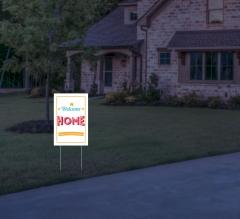 Reflective Home Yard Signs