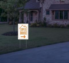 Reflective House Yard Signs