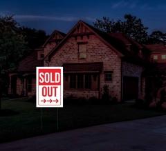 Reflective Sold Yard Signs