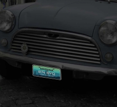 Reflective State License Plates