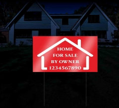 Reflective Yard Sale Signs