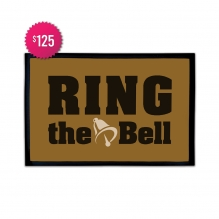 Free Ring The Bell Outdoor Floor Mats (3' x 2')