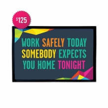 Free Safety Quote Outdoor Floor Mats (3' x 2')