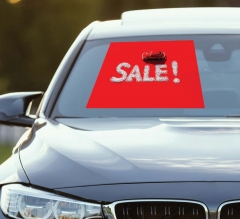 Sales Car Signs