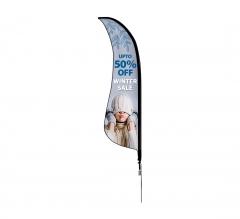 Shark Fin Flags