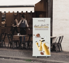 Shop Roll Up Banner Stands