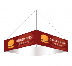 Sky Tube Square Hanging Banners