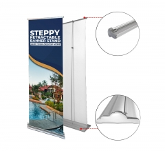 Steppy Retractable Banner Stand