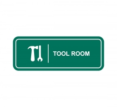 Tool Room Sign